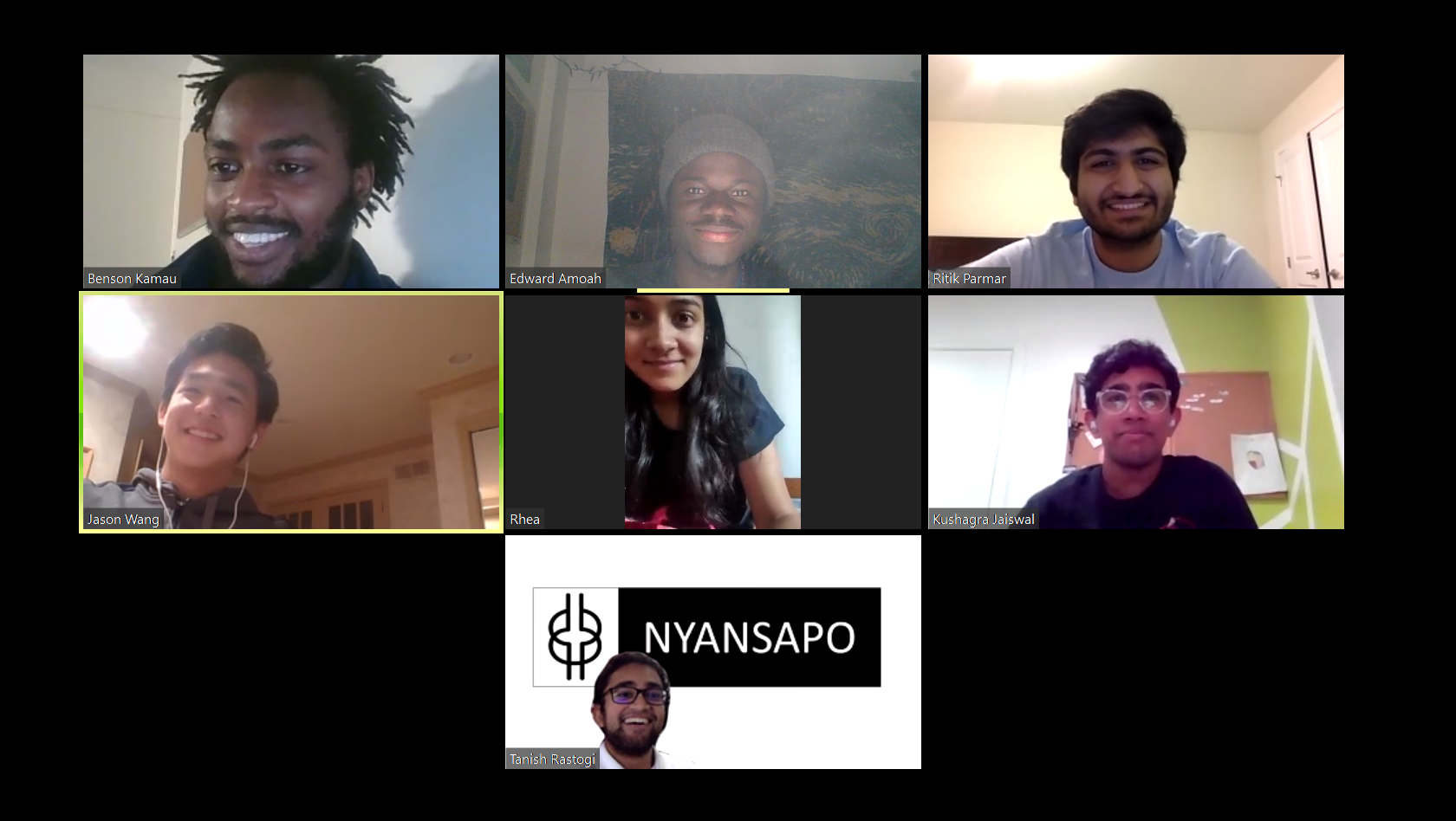 Nyansapo team