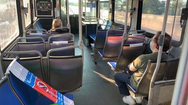 Mandated telework during the COVID-19 pandemic has drastically reduced public transportation ridership in Philadelphia.